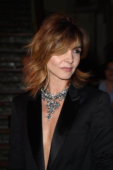 Clotilde+Courau+Shoulder+Length+Hairstyles+aFk_g8VUWGCl
