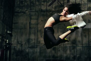 Sofia Boutella for Nike. Zdroj: google.com