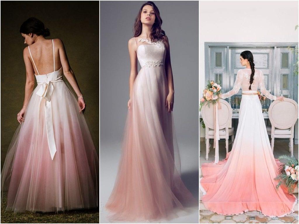 Ombre svatební šaty. Troufla byste si na ně   0be643fc0d