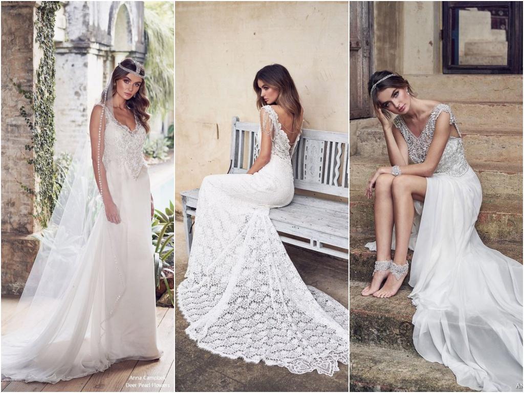 Svatebni Kolekce Od Anny Campbell Pro Rok 2019 Fashionmagazin Cz